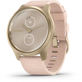 Garmin Vivomove Style Montre connectée, white gold/pink